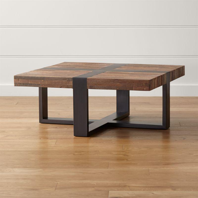 Off Crate And Barrel Crate Barrel Square Coffee Table: Seguro Square Coffee Table