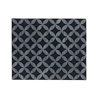 Selby Wool-Blend Blue 8'x10' Rug