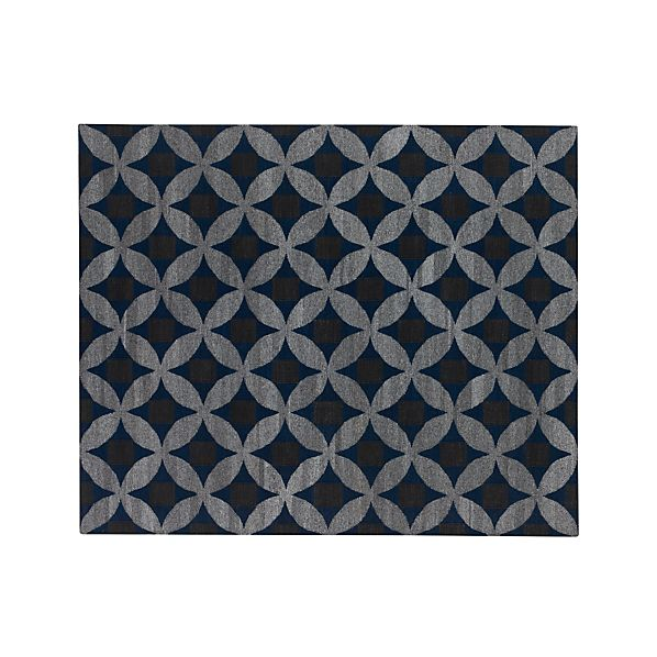 Selby Wool Blend Blue 8 X10 Rug In Outlet Accessories