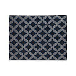 Selby Wool-Blend Blue 9'x12' Rug