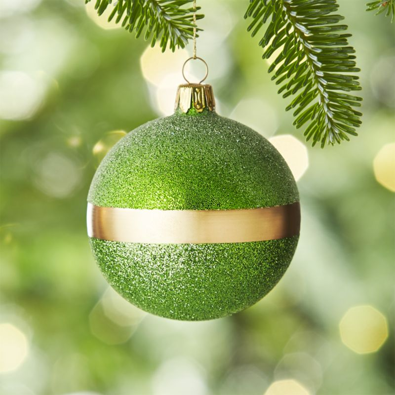 Selina Green Ball Ornament
