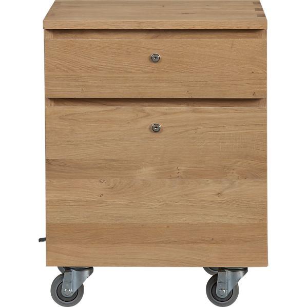 Sentry II Oak Filing Cabinet