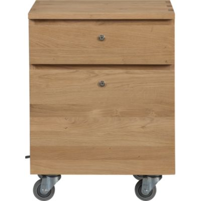 Sentry II Oak Filing Cabinet