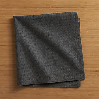 Sequence Charcoal Grey Napkin
