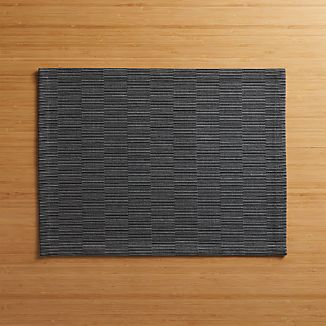 Sequence Charcoal Grey Placemat