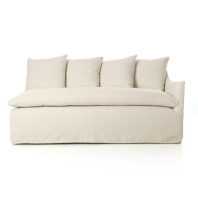 Serene Slipcovered Right Arm Sofa