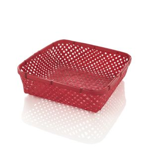 Large Red Serving Basket