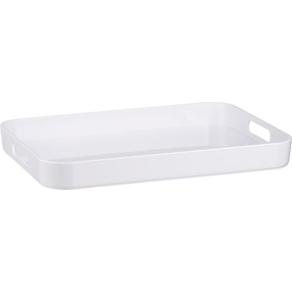 Melamine Large Serving Tray