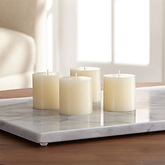A taller version of the votive candle, mini pillars can be used in a variety of candleholders and are a great size for mixed candle displays.