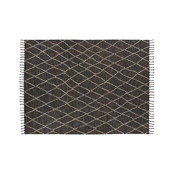 Shaba Black 9x12' Rug