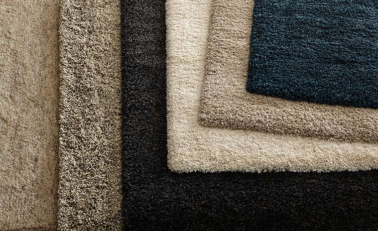 Multiple Shag Rugs