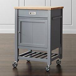 Sheridan Grey Kitchen Cart