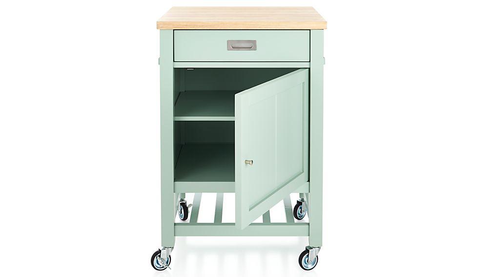 Sheridan Mint Kitchen Cart