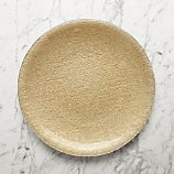 Shimmer Gold Glass Platter-Charger Plate