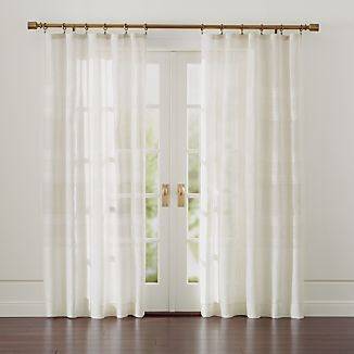 Shorewood Natural Linen Curtains