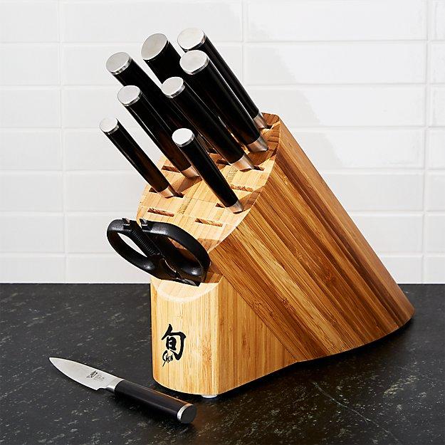 Shun ® Classic 11-Piece Knife Block Set