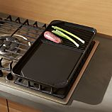 Side-by-Side Griddle/Grill Pan