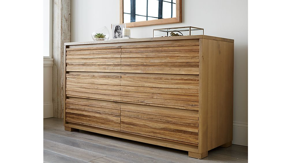 Sierra Six-Drawer Dresser
