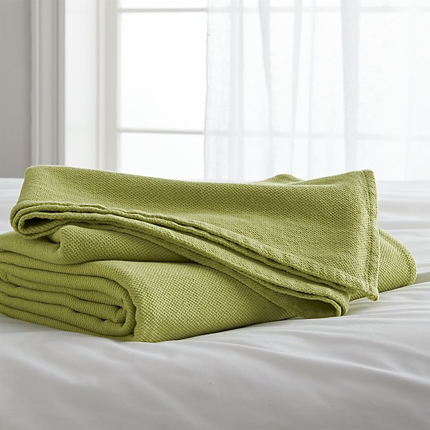 Siesta Green Full/Queen Blanket