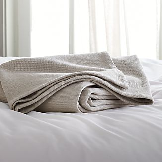 Siesta Grey Blanket