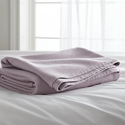 Siesta Purple Twin Blanket