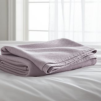 Siesta Purple Blanket