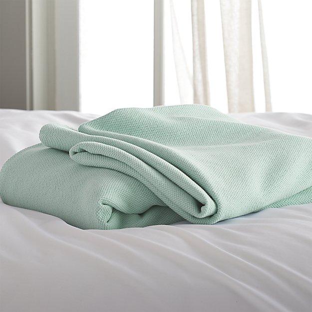 Siesta Seafoam Full/Queen Blanket