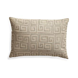 "Silas Khaki 24""x16"" Pillow"