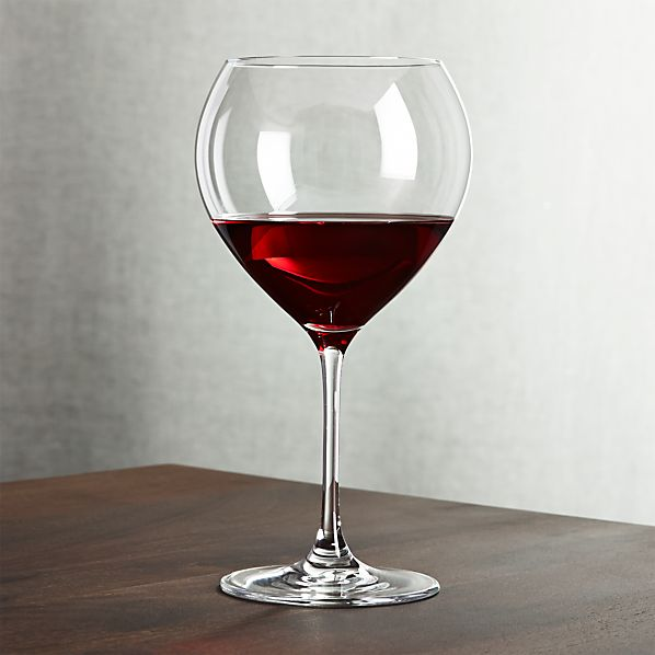 Silhouette Big Red Wine Glass