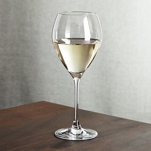 Silhouette White Wine Glass Crate And Barrel