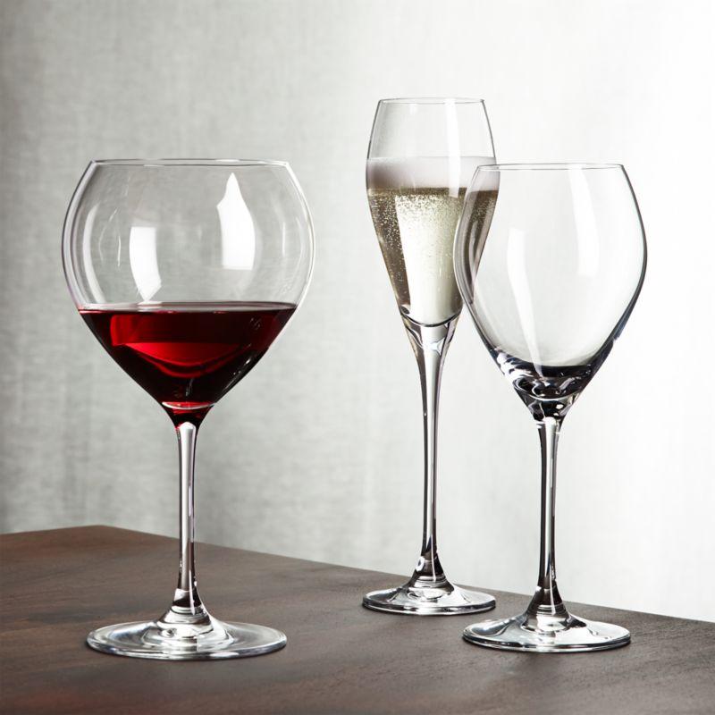Silhouette Wine Glasses Crate And Barrel