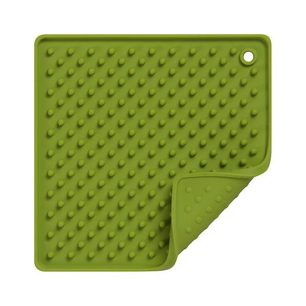 Silicone Green Potholder-Trivet