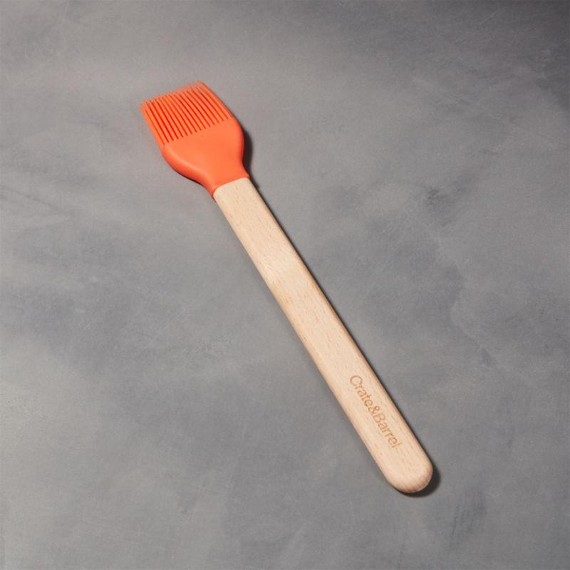 Silicone Orange Basting Brush