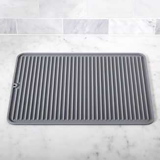 Silicone Grey Drying Mat