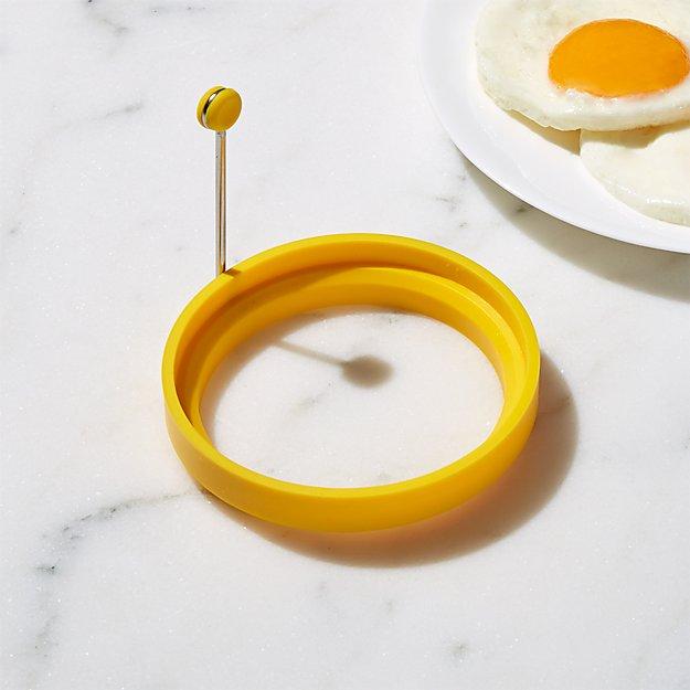 Yellow Silicone Pancake/Egg Ring