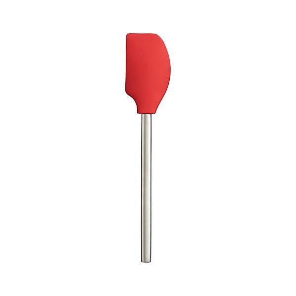 Red Silicone Spatula
