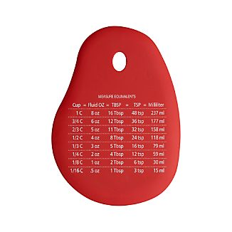 Silicone Scraper with Measurements