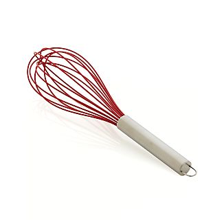 "Red 12"" Silicone Whisk"