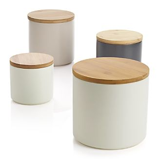 Set of 4 Silo Canisters