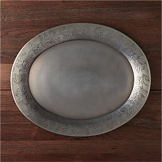 Silva Oval Serving Platter