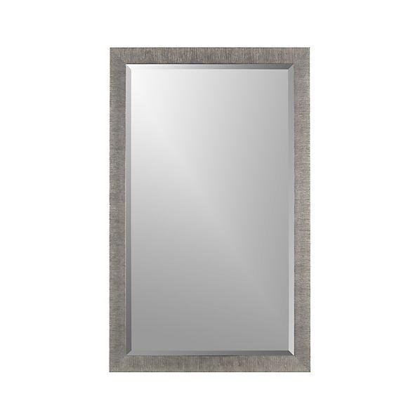 Silver Birch Rectangular Wall Mirror