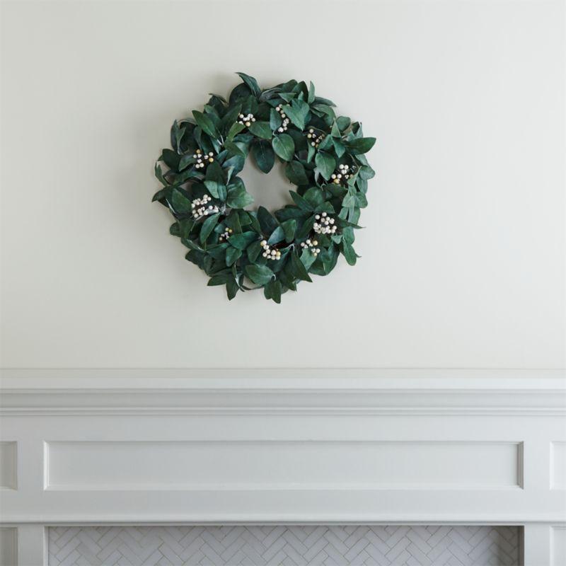 Silver Sage Wreath