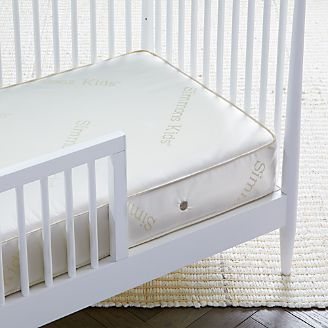 Crib Twin Full Amp Bunk Mattresses For Kids Crate And Barrel
