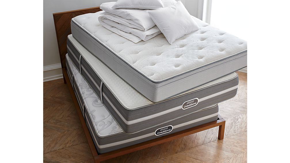 Simmons Twin Beautysleep Mattress Crate And Barrel