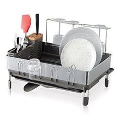 simplehuman ® Dish Rack Deluxe