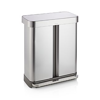 Simplehuman 58-Liter/15-Gallon Recycler