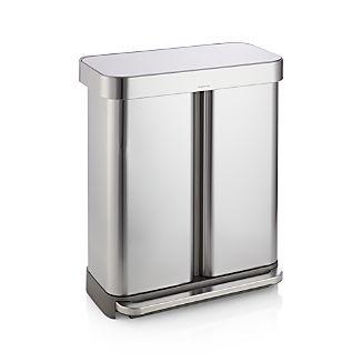 Simplehuman 58-Liter/15-Gallon Recycler