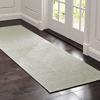 Sisal Dove Grey 2.5'x8' Rug Runner