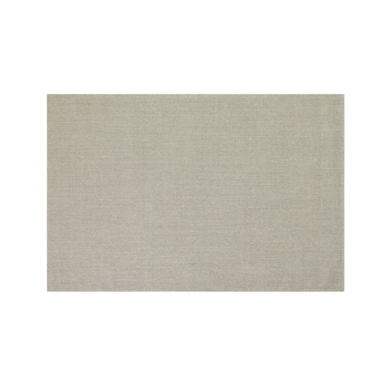 Sisal Dove Grey 6'x9' Rug