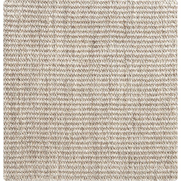 "Sisal Linen 12"" sq. Rug Swatch"